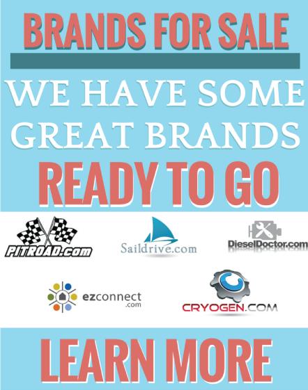 Brands for Sale Domainworks