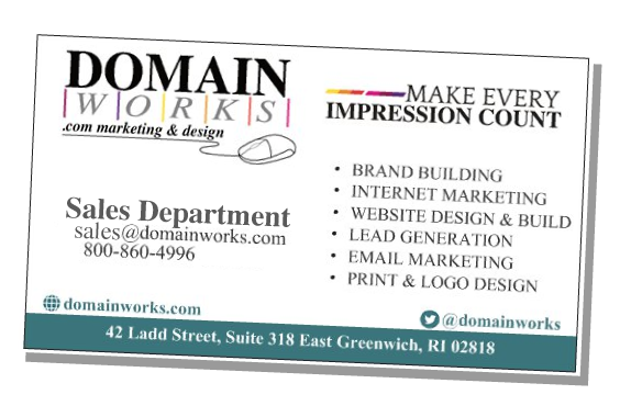 Domainworks Business Card