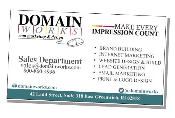 Domainworks Business Card